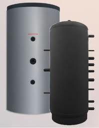 SUNSYSTEM puffertartály hőcserélő nélkül, szigetelt 500 l