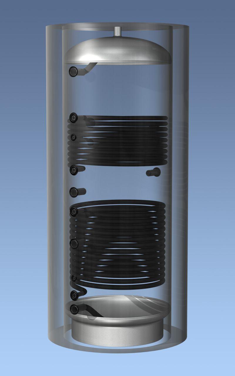 AQ PF 2000 C2 Hajdú Aquastik puffer 2 hőcserélővel